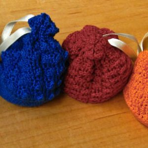 Settlers Of Catan Crocheted Game Piece Bags