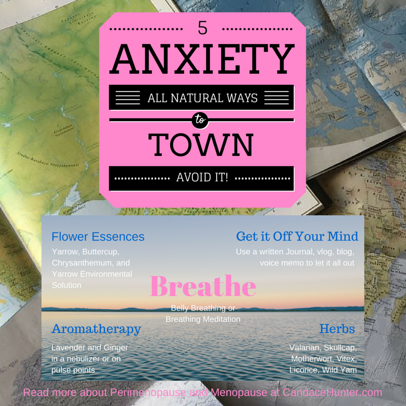 Anxiety Town Isn't The Destination: How To Survive The Ride Naturally