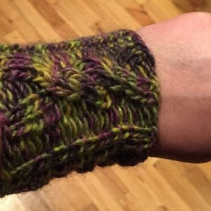 Easy Knitted Cabled Gauntlets Or Wrist Warmers