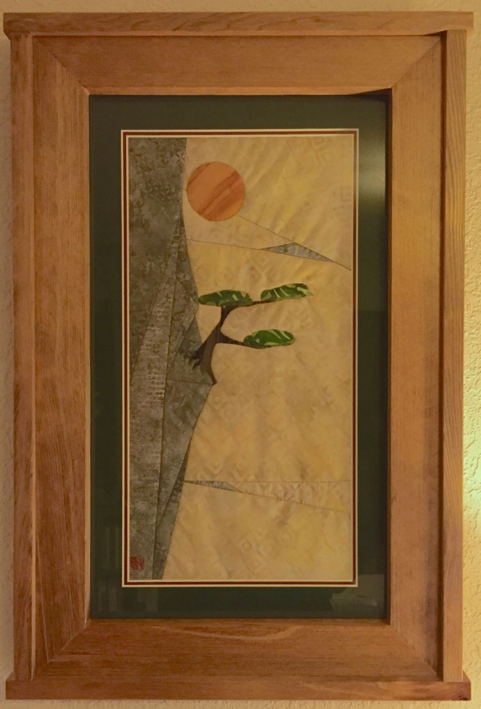 Tree And Rock Quilt I