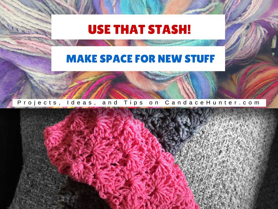 Use That Stash Project 4: Pretty In Pink Mitts