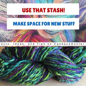 Use That Stash Project #6: Handspun Corridale