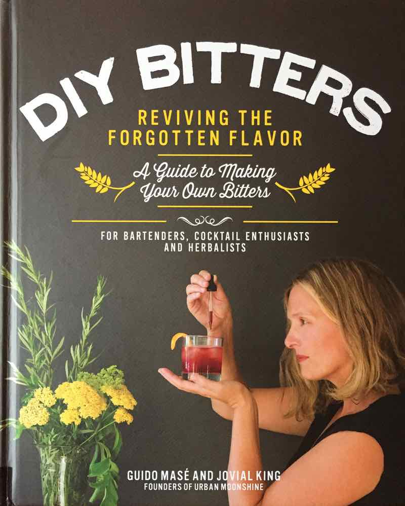 DIY Bitters Book Cover