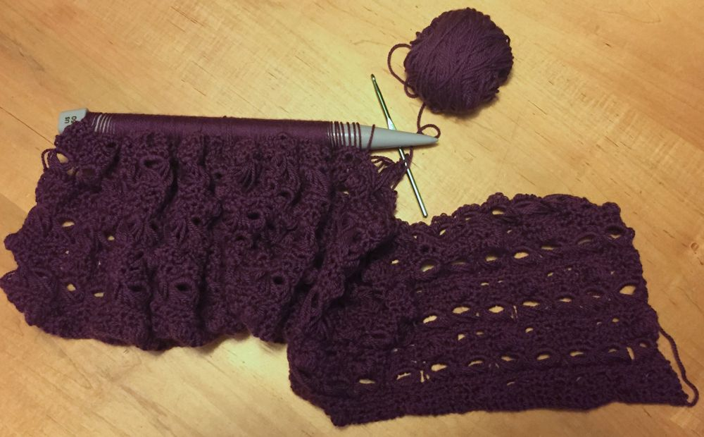 Broomstick Lace, Super Easy!