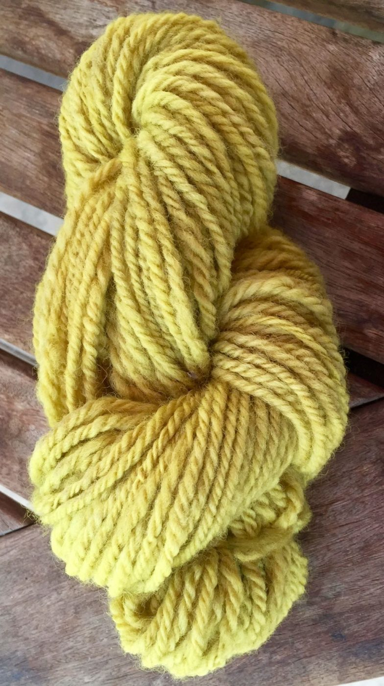 Dyeing For Color: Carrot On Wool