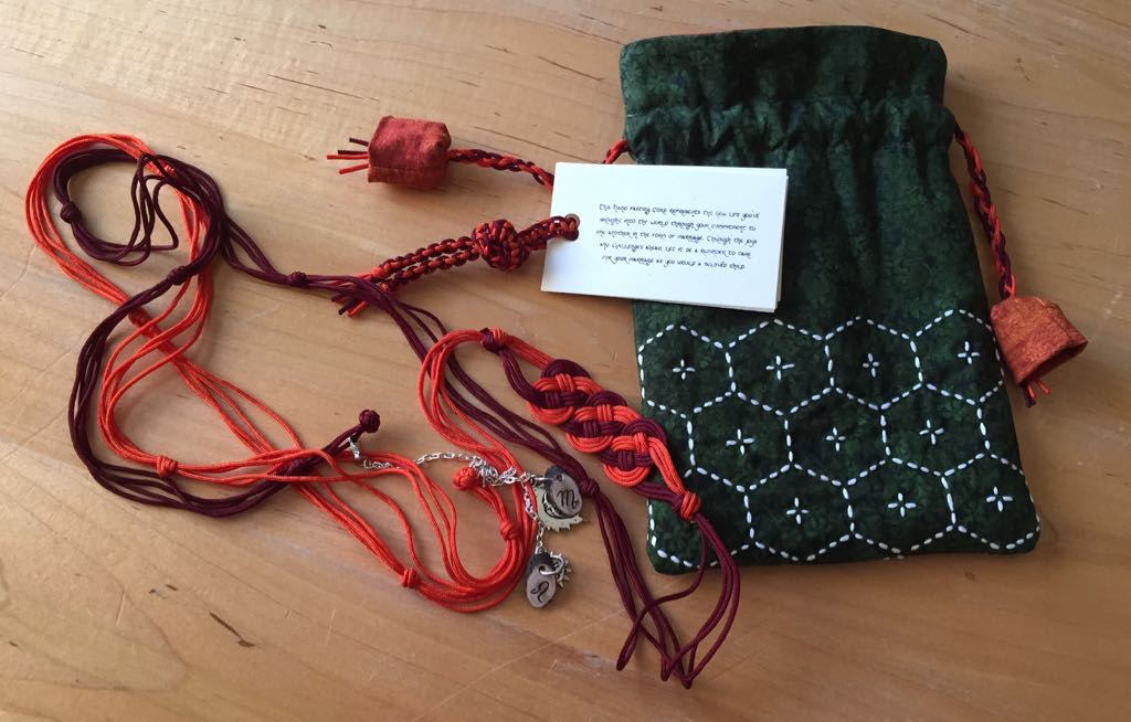 Handfasting Cord And Bag