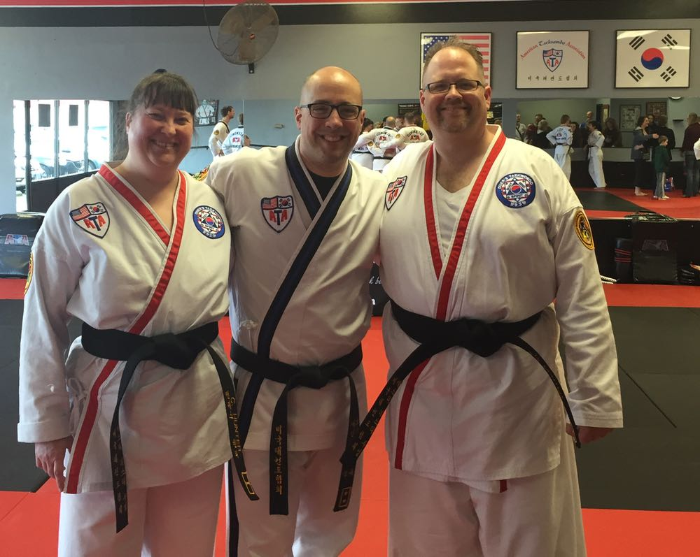 Black Belt, At Last!
