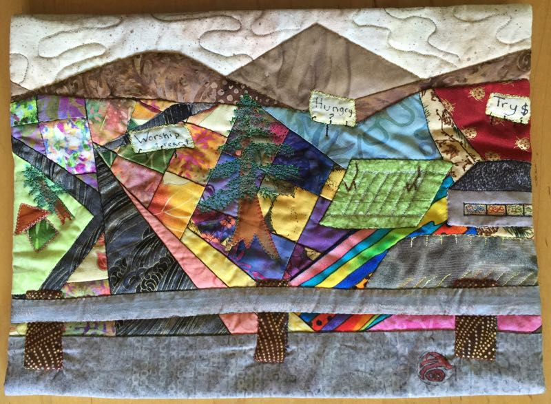 Quilted Wallhanging City