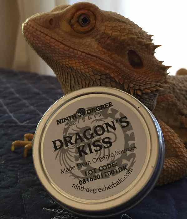 Sore Muscles? Try Dragon's Kiss Herbal Salve, 1 Oz Tin